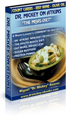 Ebook cover: Dr. Mickey On Atkins - The Mijas-Diet