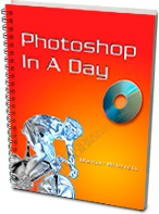 Ebook cover: Photoshop In A Day