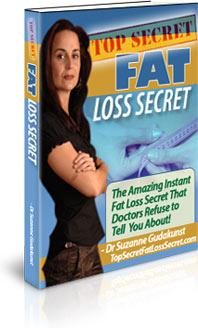 Ebook cover: Fat Loss Secret
