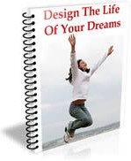 Ebook cover: Design The Life Of Your Dreams