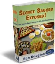 Ebook cover: Secret Sauces Exposed!