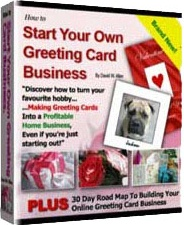 Ebook cover: How To Start Your Own Greeting Card Business