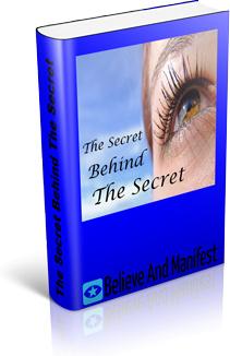 Ebook cover: The Secret Behind The Secret