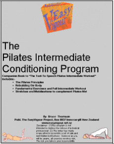 Ebook cover: The Pilates Intemediate Conditioning Program