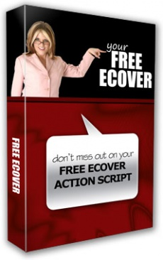 Ebook cover: 3DEcovers - Ecover Actions for Photoshop
