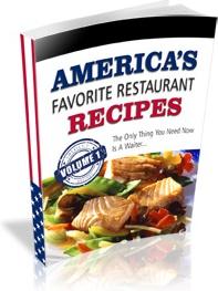 Ebook cover: America's Favorite Restaurant Recipes v1