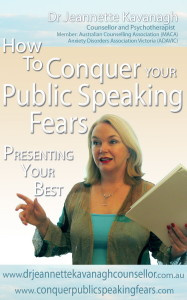 Ebook cover: The Conquer Your Fear of Public Speaking