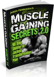 Ebook cover: Muscle Gaining Secrets: The Hardgainers Guide to Getting Big and Ripped
