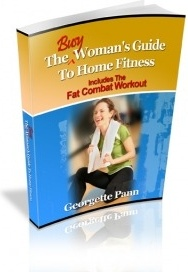 Ebook cover: The Busy Woman's Guide to Home Fitness