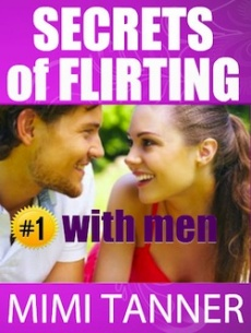 Ebook cover: The Secrets of Flirting With Men