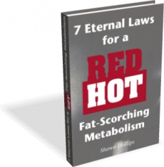 Ebook cover: Red Hot, Fat Scorching Metabolism