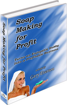 Ebook cover: Soap Making for Profit