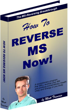 Ebook cover: How To Reverse Multiple Sclerosis Now!
