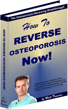 Ebook cover: How to Reverse Osteoporosis
