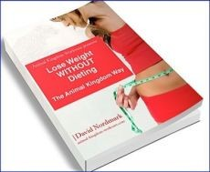 Ebook cover: Lose Weight WITHOUT Dieting - the animal kingdom way