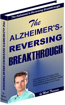 Ebook cover: The Alzheimer's-Reversing Breakthrough