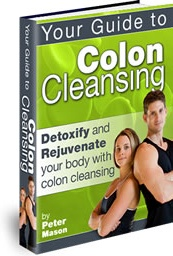 Ebook cover: Your Guide To Colon Cleansing
