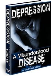 Ebook cover: DEPRESSION A Misunderstood DISEASE