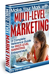 Ebook cover: Make Your Mark with Multi-level Marketing