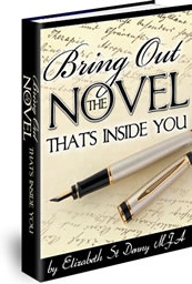 Ebook cover: Bring Out The Novel That's Inside You