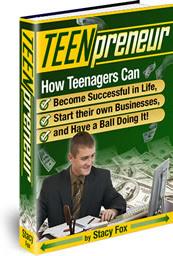 Ebook cover: Teenpreneur