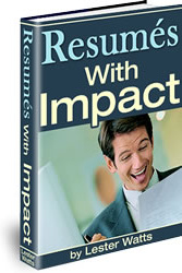 Ebook cover: Resumes with Impact