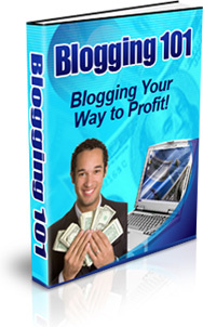 Ebook cover: Blogging - Tips & Tricks to Profiting From Blogging!