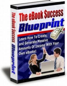 Ebook cover: The eBook Success Blueprint