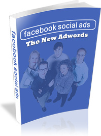 Ebook cover: Facebook Social Ads - The New Adwords