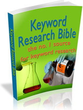 Ebook cover: Keyword Research Bible