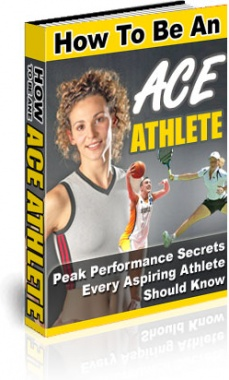 Ebook cover: How To Be An Ace Athlete