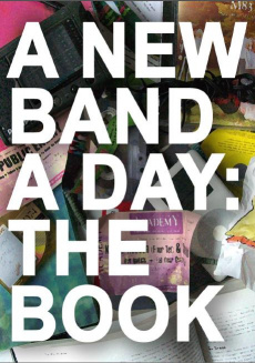 Ebook cover: A New Band A Day - The Book!