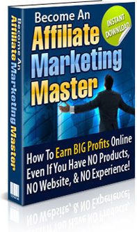 Ebook cover: How To Become An Affiliate Marketing Master