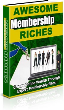 Ebook cover: Awesome Membership Riches