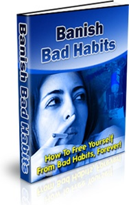 Ebook cover: Banish Bad Habits