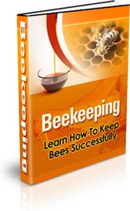 Ebook cover: Bee Keeping