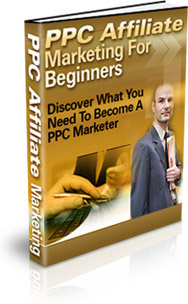 Ebook cover: PPC Affiliate Marketing For Beginners