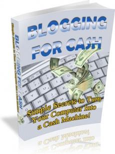 Ebook cover: Blogging for Cash