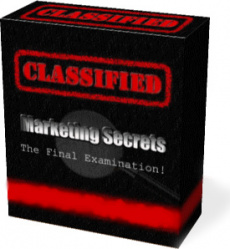 Ebook cover: Classified Marketing Secrets