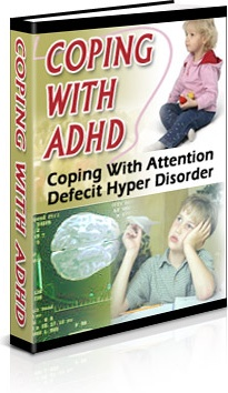 Ebook cover: Coping With ADHD