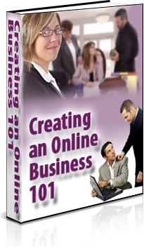 Ebook cover: Creating an Online Business 101