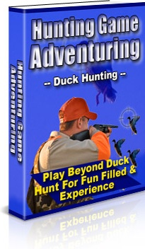 Ebook cover: Hunting Game Adventuring