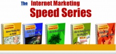 Ebook cover: The Internet Marketing Speed Guide Collection