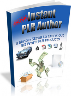 Ebook cover: Instant PLR Author
