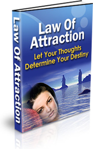 Ebook cover: Law of Attraction