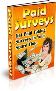Ebook cover: Paid Surveys