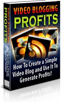 Ebook cover: Video Blogging for Profits