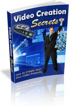Ebook cover: Video Creation Secrets