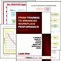 Ebook cover: From Training to Enhanced Workplace Performance: A practical guide for turning training dollars into performance results