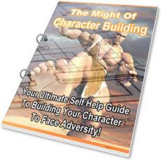 Ebook cover: The Might Of Character Building